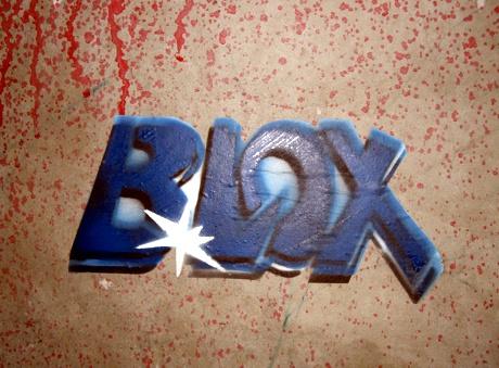 BLOX Graffiti Street Art Basel