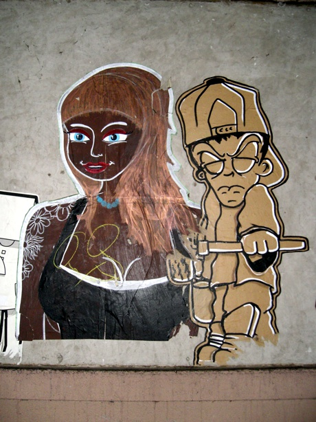 Streetart Basel Figuren